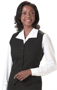 Edwards Womens High Button Dress Vest
