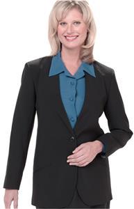 Edwards Misses' Cardigan Suit Coat w/One Button