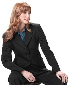 Edwards Misses' & Womens Pinstripe Suit Coat