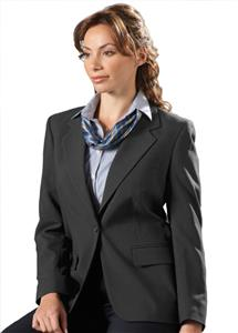 Edwards Womens Poly/Wool Single-Breasted Suit Coat