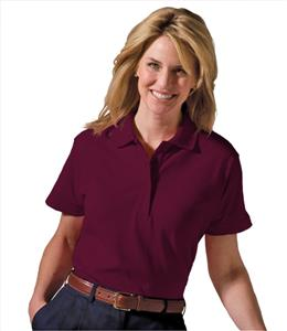 Edwards Womens Short Sleeve Soft Touch Pique Polo