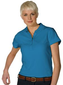 Edwards Womens Dry-Mesh Hi-Performance Polo Shirts