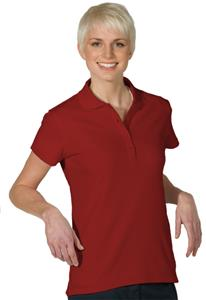 Edwards Womens Plaited Hi-Performance Polo Shirts