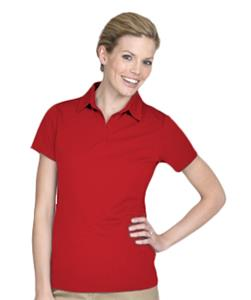 Edwards Womens ECOTEC100 Short Sleeve Polos