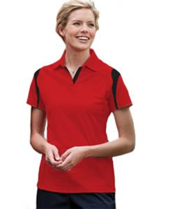 Edwards Womens ECOTEC100 Polo with Accents