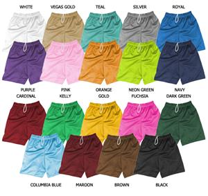 Multi Sports 2 Ply Tricot Mesh Athletic Shorts CO