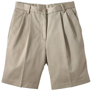 Edwards Misses' & Womens Pleated Front Shorts