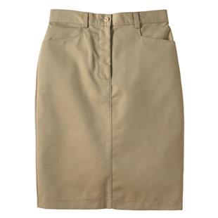 Edwards Misses' & Womens Mid-Length Chino Skirt