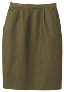 Edwards Misses' & Womens Wool Blend Straight Skirt