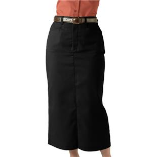 Edwards Misses' & Womens Long Chino Skirt