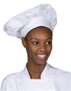 Edwards Unisex Poplin Chef Hat