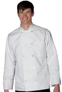Edwards Ten Button Lightweight Chef Coat