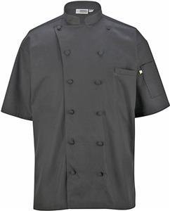 Edwards Unisex 12 Button Short-Sleeve Chef Coat