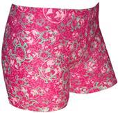 "Plangea Spandex 2.5"" Sports Shorts-Tuga Pink Print"