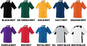 Augusta Sportswear Gamer Poly Mesh Baseball Jersey