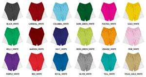 Multi Sports Triangle Side Panel Athletic Shorts