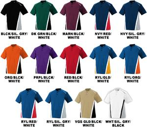 Augusta Sportswear RBI Poly Mesh Baseball Jerseys