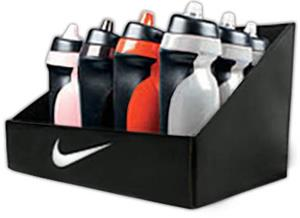NIKE Sport Water Bottle Display - 12 Pack