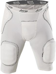 Adams 6-Pocket Integrated Football Girdles - C/O