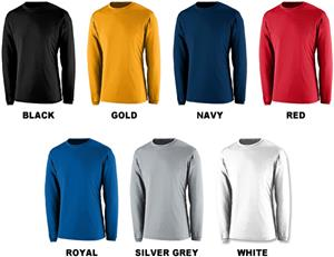 Augusta Sportswear Apex Long Sleeve Crew Shirt CO