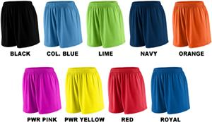 "Augusta 5"" Womens Girls Inferno Shorts"