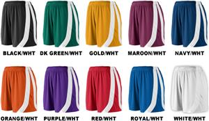 "Augusta 5"" Womens Girls Triumph Shorts"