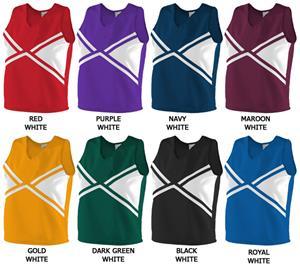 Augusta Cheerleaders Uniform Explosion Shells