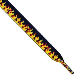 Red Lion Flame Shoe Laces