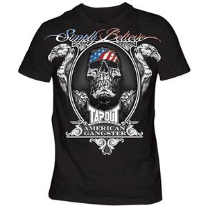 TapouT Chael Sonnen American Gangster T-Shirts