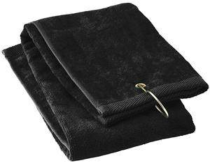 Augusta Heavyweight Tri Fold Hand Towel & Hook
