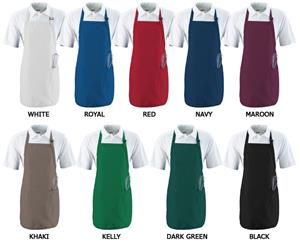 Augusta Full Length Apron With Pockets