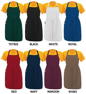 Augusta Oversized Full Length Apron With Pockets