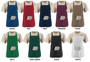Augusta Medium Length Apron With Pockets