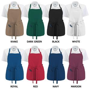 Augusta Oversized Medium Length Apron With Pockets