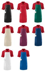Augusta Sportswear Long Apron With Pocket