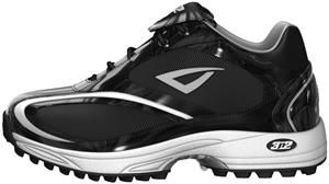 3n2 Momentum Trainer Lo Softball Shoe Black Patent