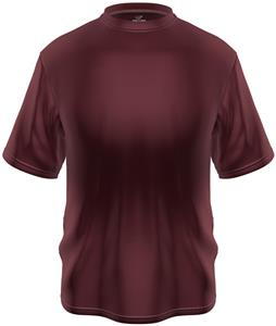 KZONE Cool Short Sleeve Shirt Loose Fit Maroon