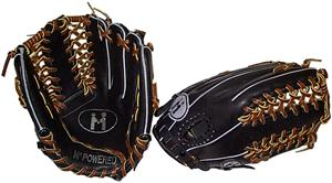 M Powered Pro Platinum Trapeze Outfielders Glove