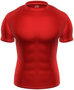 3n2 KZONE Cool Short Sleeve Shirt Tight Fit Red