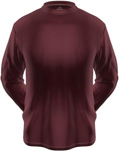 KZONE Cool Long Sleeve Shirt Loose Fit Maroon