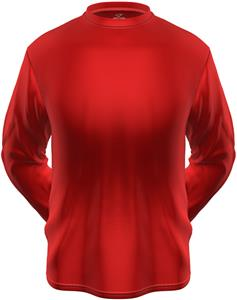 KZONE Cool Long Sleeve Shirt Loose Fit Red