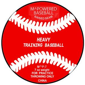M Powered 7 oz.Weighted Training Baseball (Dozen)