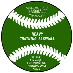 M Powered 9 oz. Weighted Training Baseball (Dozen)