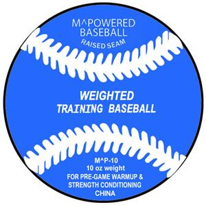 M Powered 10 oz. Weighted Training Ball (Dozen)