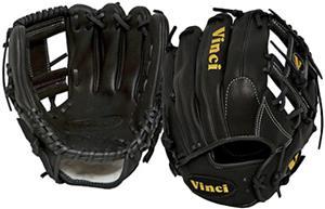 "Vinci Infield 11.75"" Black I-Web Baseball Glove"