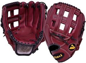 "Vinci 12"" Dual Post Web Baseball/Softball Gloves"