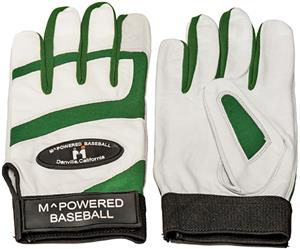 M Powered Premium Goatskin Leather Batting Gloves