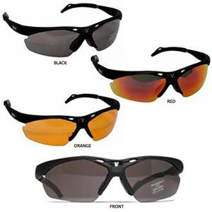 Vinci Black Sunglasses w/3 Different Lenses