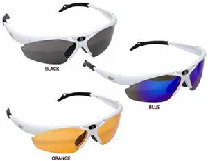 Vinci White Sunglasses w/3 Different Lenses