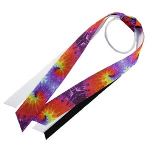 Red Lion Tie Dyed Ribbon Ponytail Streamers